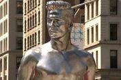 Los Angeles Bangun Patung David Beckham
