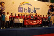 Putri  U-17 Djarum Juara Superliga Junior