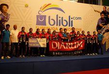 Putri  U-17 Djarum Juara Superliga Junior