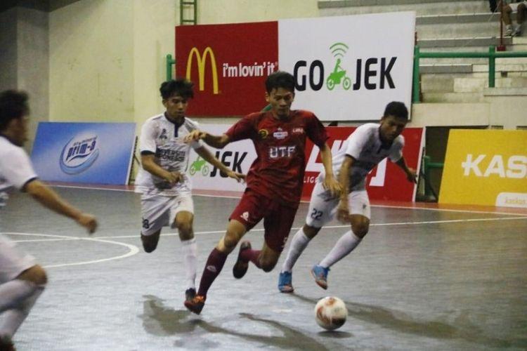 UNY pun bersiap tampil di laga puncak LIMA Futsal CJYC 2018 yang akan dihelat pada Rabu (7/11) untuk menghadapi  Univ. Tunas Pembangunan yang mengalahkan Univ. Diponegoro di semifinal pertama beberapa saat sebelumnya.