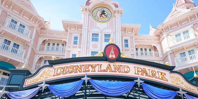 Disneyland Park di Paris.