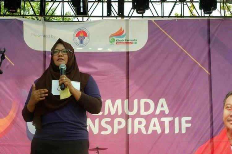 Gelaran Pemuda Inspiratif Kota Padang fokus pada pencarian 1 Putra dan 1 Putri terbaik untuk mewakili kota Padang menuju kompetisi final di Serang, Banten.