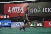 Kejutan  Warnai Lima Badminton Final Nationals 2018