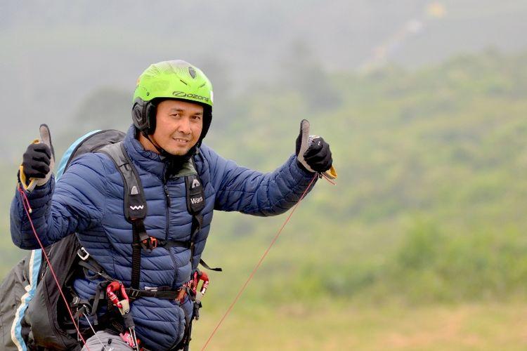 Thomas Widyananto, peraih empat medali emas SEA Games 2011, diharapkan menjadi inspirasi para pilot muda anggota Pemusatan Latihan Nasional Paralayang untuk Asian Games 2018 lainnya, pada Piala Asia Lintas Alam Paralayang II 2017, 11-14 Agustus, di Puncak, Jawa Barat.