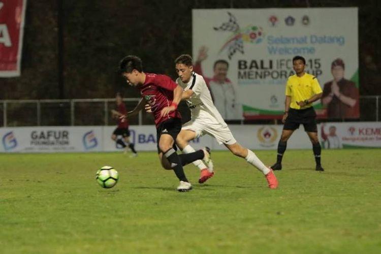 Kejuaraan Bali International Football Championship (IFC) U-15 Piala Menpora 2018 dinilai mampu memberikan pengalaman berharga bagi setiap pemain muda yang ambil bagian