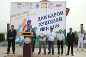 Semangat Asian Games Tiba di Tajikistan