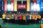 LIMA Badminton CJYC Kembali Dilangsungkan