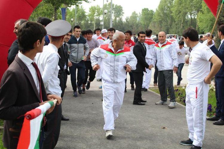 Menurut Menteri olahraga Tajikistan, Abdullozod Ahtam Rustam, yang juga wakil presiden NOC Tajikistan, kegiatan fun run tak hanya olahraga semata.