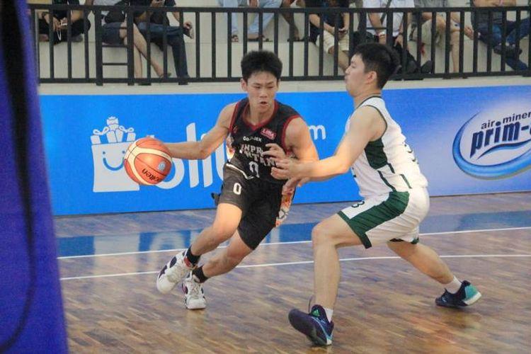 UNPRI vs UPH  pada LIMA Basketball: Go-Jek Sumatra Conference (SMC) 2018  pada Selasa (10/7).
