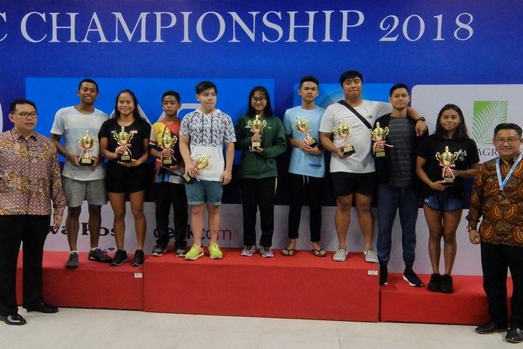 Para atlet renang terbaik IOAC 2018