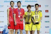 Liu/Zhang Bikin China Samakan Skor 1-1 pada Final Piala Thomas