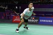Lawan Chen Long, Anthony Belajar dari Asian Games