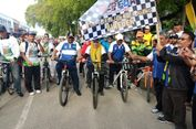 Sepeda Nusantara Disambut di Bireuen