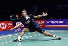 Anthony Ingin Balas Kekalahan dari Chou di Asian Games