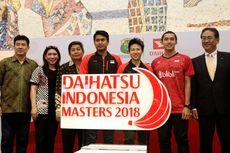 Indonesia Masters Berlangsung Januari 2018