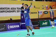 Susunan Pemain Indonesia Vs China pada Final Kejuaraan Beregu Asia