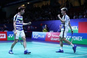 Menangi Perang Saudara, Marcus/Kevin ke Final Hong Kong Open 2018