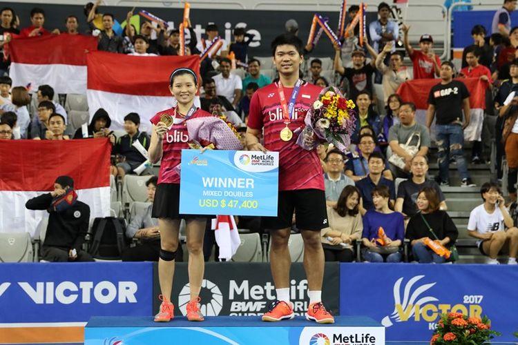 Praveen Jordan/Debby Susanto juara Korea Open Superseries 2017