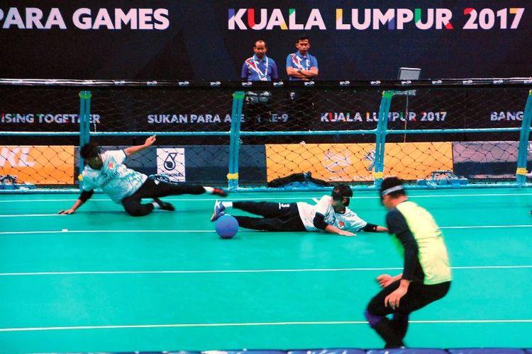 Pertandingan Goal Ball ASEAN Paragames 2017