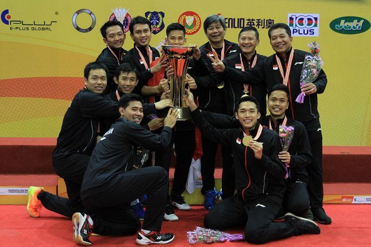 Tim Putera Bulutangkis Indonesia Sukses Pertahankan Gelar Kejuaraan Beregu Asia