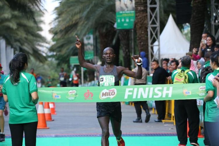 David Kibet Juara MILO Jakarta International 10K 2018