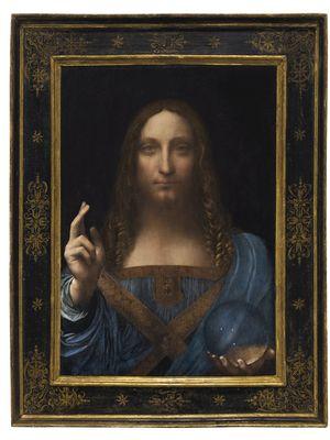 Salvator Mundi karya Leonardo da Vinci