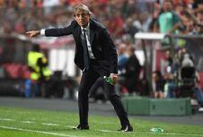 Mancini Santai meski Italia Alami Krisis Kemenangan