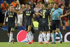 Daftar 11 Kartu Merah dalam Karier Cristiano Ronaldo