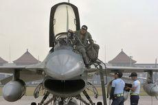 Berita Foto: Delapan Pesawat F-16 Berangkat Latihan Tempur dari Bali