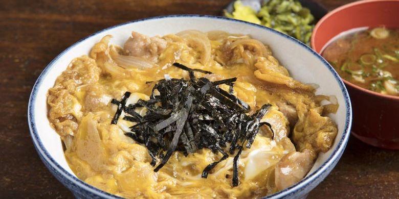 Hidangan Oyakodon