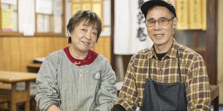 Restoran Tokyo-an yang terletak di Kota Ogaki, Prefektur Gifu saat ini dioperasikan oleh generasi ketiga dan istrinya, awalnya dijalankan oleh pemilik generasi pertama di Taiwan.