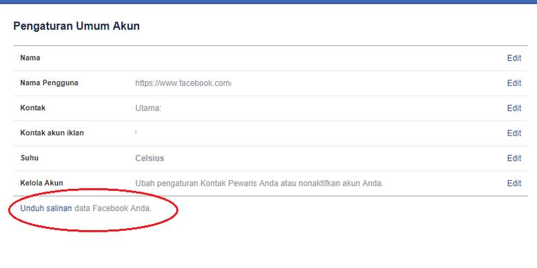 Cara Melihat Laporan Di Facebook