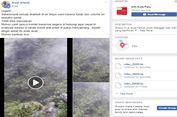 Viral, Video Sejumlah Remaja Terjebak di Air Terjun Wera ketika Banjir Datang
