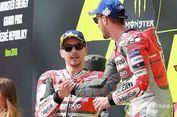 Konflik Lorenzo dan Dovizioso Jadi Kendala Ducati Tahun Lalu