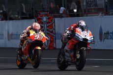 Rossi dan Dovi yang Bisa Tunda Perayaan Juara Marquez di Motegi