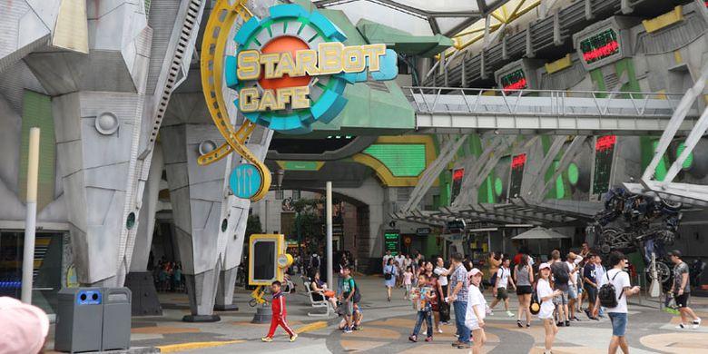 Universal Studios Singapore, Rabu (8/2/2017). Tempat wisata yang berada di Pulau Sentosa ini bisa dibilang wajib dikunjungi wisatawan saat melancong ke Singapura termasuk wisatawan Indonesia.