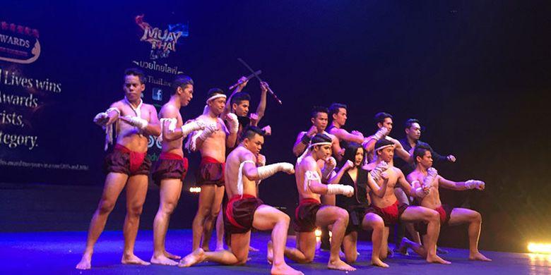Muay Thai di Bangkok, Thailand, adalah olahraga yang wajib ditonton bagi penggemar kickboxing.