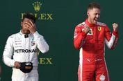 Hamilton Tidak Percaya Kalah dari Vettel pada GP Australia