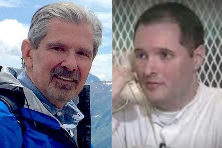 Kent Whitaker (kiri), dan anaknya Bart Whitaker yang menjadi pelaku utama pembunuhan terhadap keluarganya di Desember 2003.