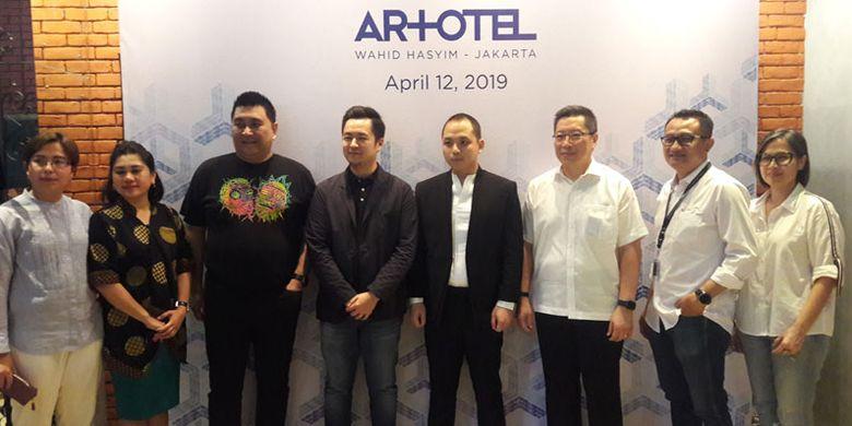 Peresmian ARTOTEL Wahid Hasyim di Jakarta Pusat, Jumat (12/4/2019).