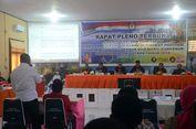 Massa Paslon AGK-Ya di Pilkada Maluku Utara Bentrok deng   an Polisi