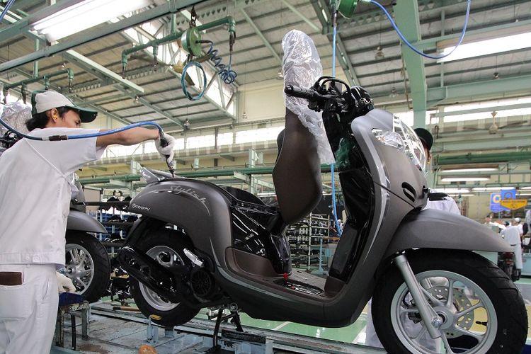 Warna Baru Honda Scoopy