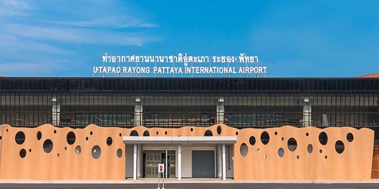 Bandara Utapao di Pattaya, Thailand.