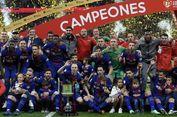 Menang Telak atas Sevilla, Barcelona Pertahankan Gelar Copa del Rey