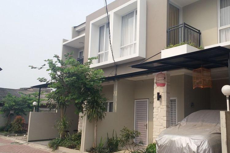 Contoh rumah tapak di Callista Vista Residences di Srengseng Sawah, Jagakarsa, Jakarta Selatan.
