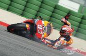 "Penyebab Marquez Gagal ""Pole Position"", Mata Kelilipan Batu"