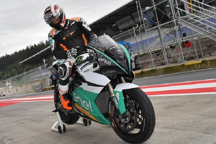 Motor balap yang akan digunakan pada FIM Enel MotoE World Cup yang akan dimulai musim 2019 mendatang.