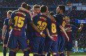 Barcelona Cuma Dihukum Penalti Satu Kali Sepanjang 2017