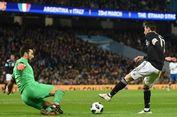 Tanpa Lionel Messi, Argentina Kalahkan Italia di Manchester