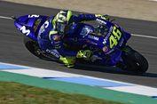 Start dari Posisi Ke-10 MotoGP Spanyol, Valentino Rossi Keluhkan Ban